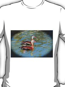 Red Billed Whistling Duck T-Shirt