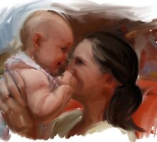 Baby Kisses by Heather Rinehart