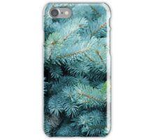 Prickly Blue Bush iPhone Case/Skin