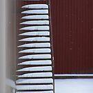 Snowy stairs by ekolina
