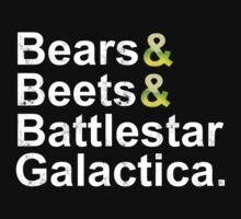 Beets Bears Battlestar Galactica One Piece - Long Sleeve
