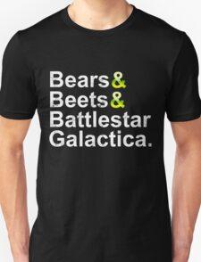 Beets Bears Battlestar Galactica T-Shirt
