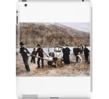 At the start of the Chilkoot Trail iPad Case/Skin