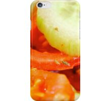 Cucumbers and Tomatoes  iPhone Case/Skin