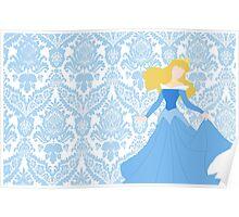 Aurora- Blue Dress Poster