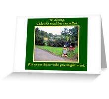 Roadside Assistance Greeting Card