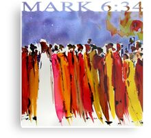 MARK 6:34 Metal Print