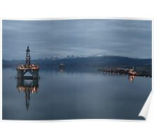 Cromarty Firth at Dusk Poster