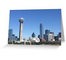Dallas TX Greeting Card