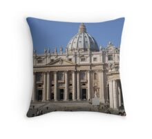St Peter's, Rome Throw Pillow