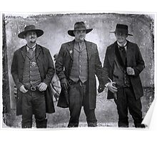 The Gunfight at the OK Corral in Tombstone Arizona Poster