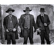 The Gunfight at the OK Corral in Tombstone Arizona Photographic Print