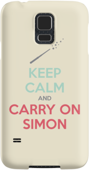 Keep Calm and Carry On Simon—Multi-Color Text by 4everYA