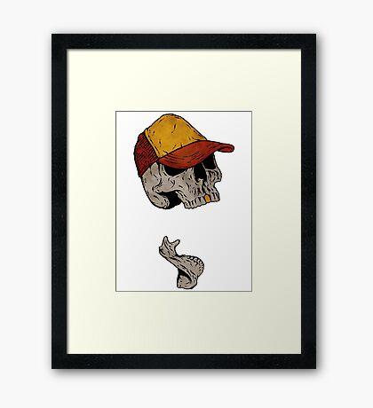 Truckin' Framed Print