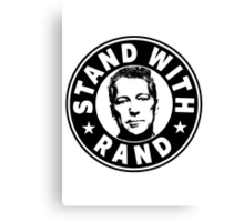Stand With Rand Canvas Print