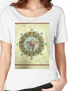 """The Tulip & The Bird"" Miniatures Women's Relaxed Fit T-Shirt"