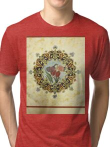 """The Tulip & The Bird"" Miniatures Tri-blend T-Shirt"