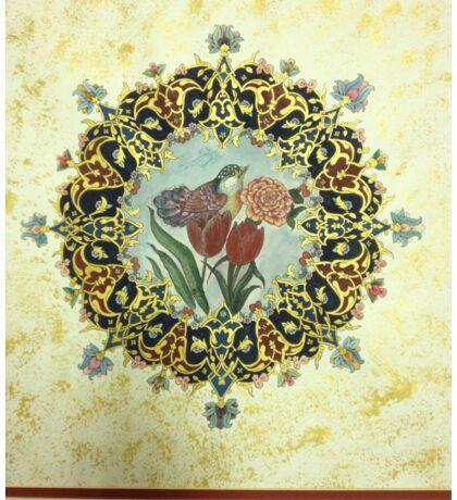 """The Tulip & The Bird"" Miniatures Sticker"