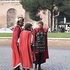 Roman soldiers by angelfruit