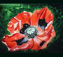 Poppies for Anzac by Sadhana Desai