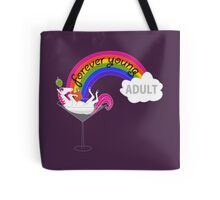 Forever Young Adult Official Tee Tote Bag