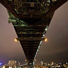 Sydney Harbour Bridge • Sydney • New South Wales by William Bullimore