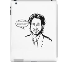 Ancient Aliens - Im Not Saying It Was The Aliens iPad Case/Skin