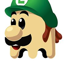Ghost Luigi by Andres Flores