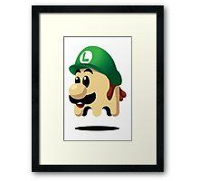 Ghost Luigi Framed Print