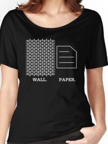 Wall Paper Women's Relaxed Fit T-Shirt
