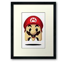 Ghost Mario Framed Print