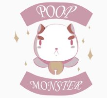 Poop Monster Puppy Cat Kids Clothes