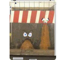 subway barf iPad Case/Skin