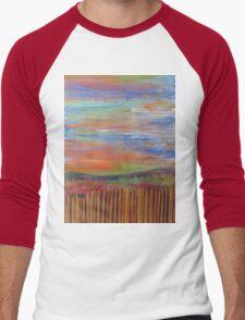 """Peaceful Steps"" Men's Baseball ¾ T-Shirt"