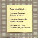 True Love Waits Bookmark by LadyRm