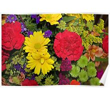 Flowers from Heaven - Makes a nice Pouch Poster