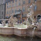Neptune Fountain - Fontana di Nettuno by angelfruit
