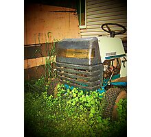 Lawn Mower Photographic Print