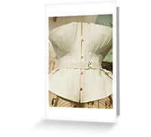 Women's Undergarments, Bra, Girdle, Brazier  Greeting Card