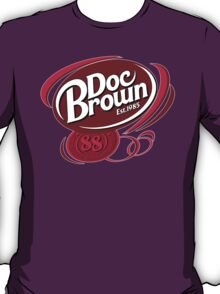 DOC BROWN COLA!! T-Shirt