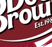 DOC BROWN COLA!! Sticker