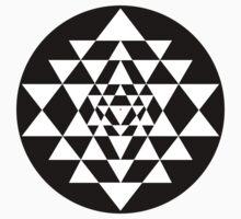 Sri Yantra #9 by John Girvan