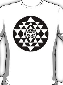 Sri Yantra #9 T-Shirt