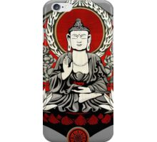 Gautama Buddha Lotus iPhone Case/Skin
