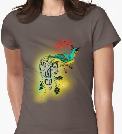 Bird of paradise 03 Womens Fitted T-Shirt