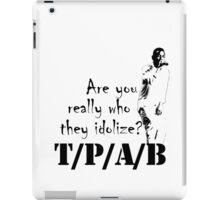 TO/PIMP/A/BUTTERFLY iPad Case/Skin