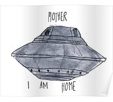 Mother, I Am Home Poster