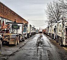 DSNY Down the Alley by wonderlandnyc