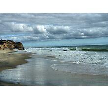 Cliffs at Lucy Vincent Photographic Print