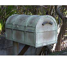 Treasure chest mailbox.... Photographic Print